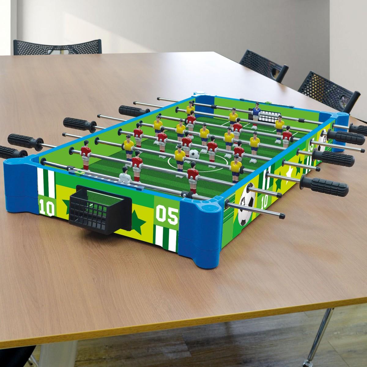 32 82cm 2 In 1 Table Tabletop Football Foosball Soccer