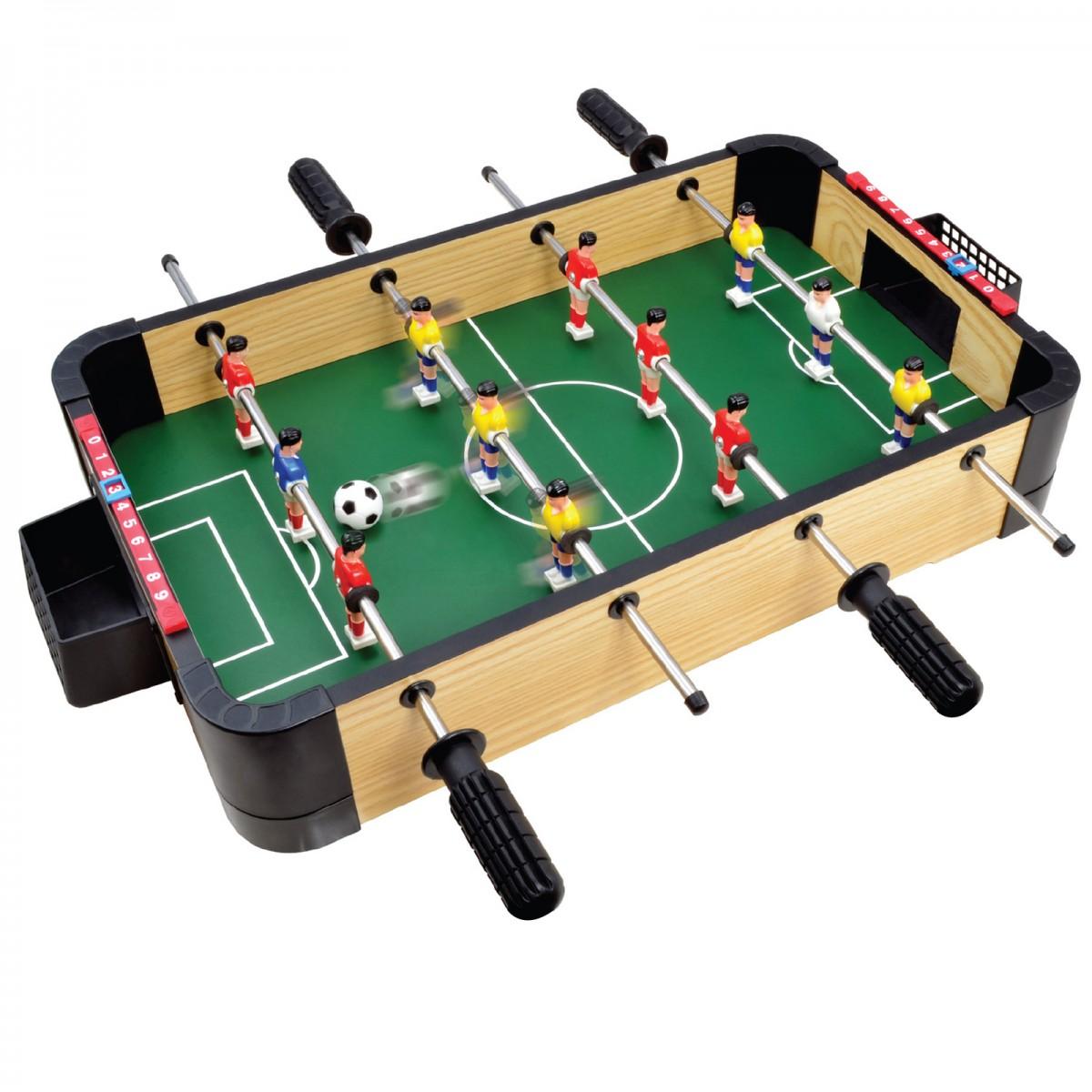 20 50cm Wood Tabletop Football Foosball Soccer Games Tables