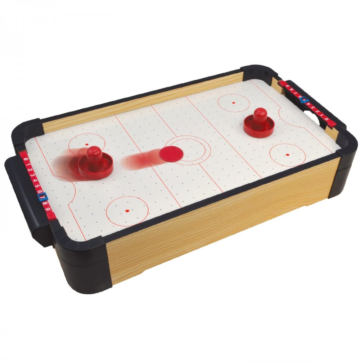 16 40cm Wood Tabletop Air Hockey