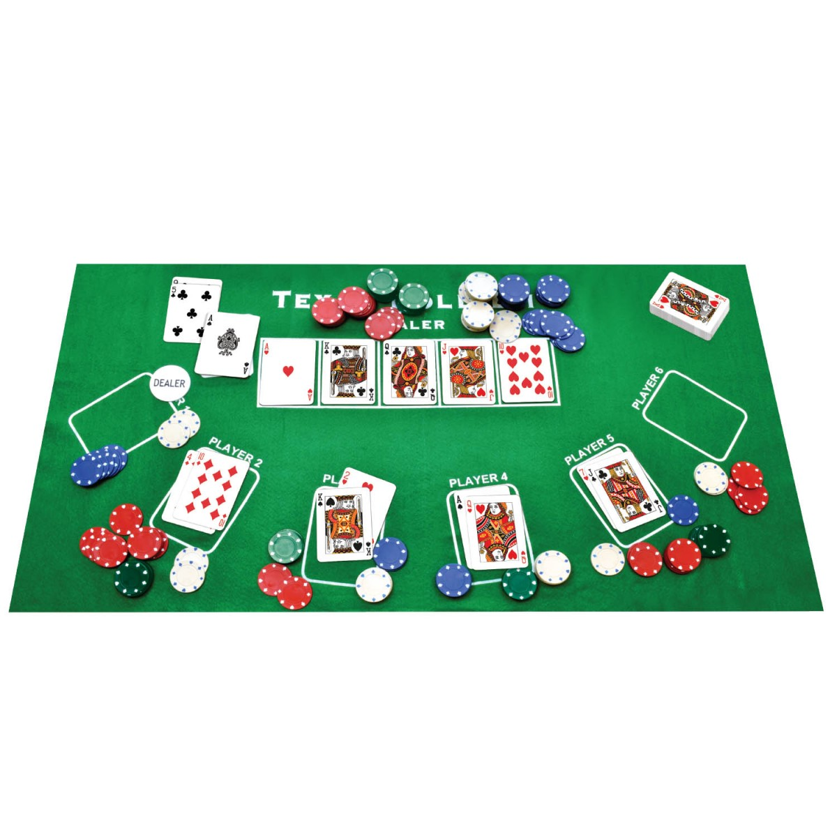 Best hands in poker in order
