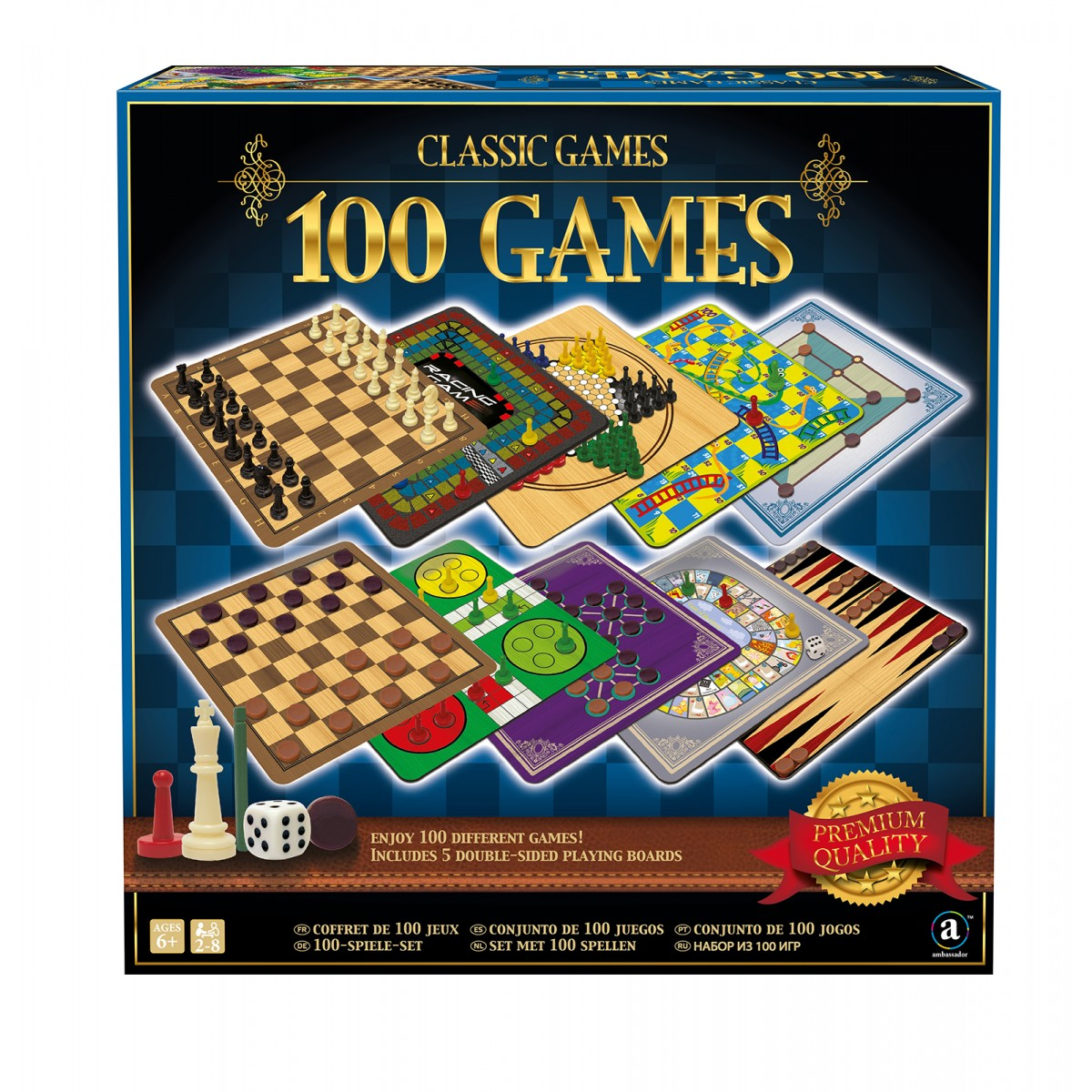 classic games 100 games instructions
