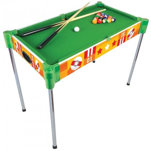 32u201d Triple Play Wood Pool Table U0026 Tabletop (+Ping Pong + Slide Hockey)