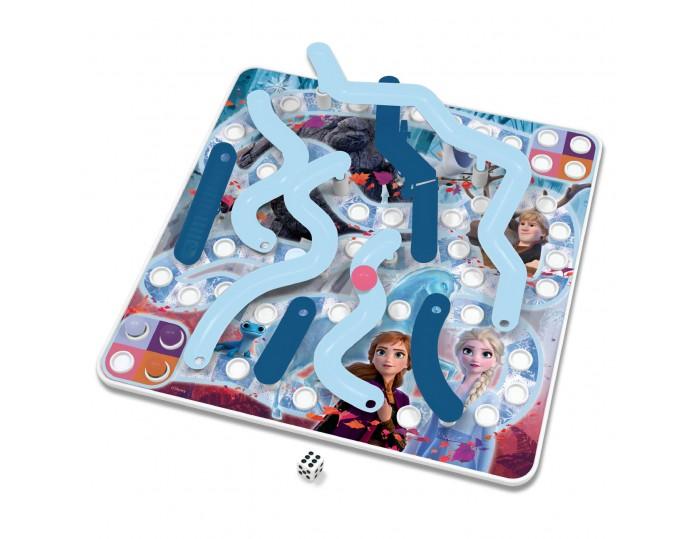Frozen 3D Ice Slides & Bridges Game