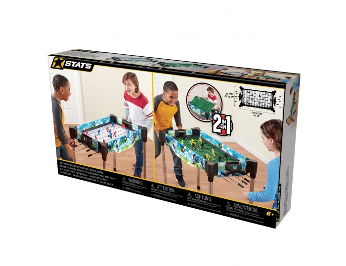 "STATS 36"" Rod Soccer / Hockey Table Game"