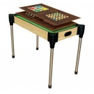"""36"""" (92cm)  10-in-1  Games Table (Pool, Basketball, Table Tennis (Ping Pong), Slide Hockey + 6 board games)"""