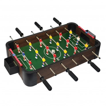 """24"""" 5-in-1 Wood Tabletop Foosball (+Ping Pong + Chess + Checker + Backgammon)"""