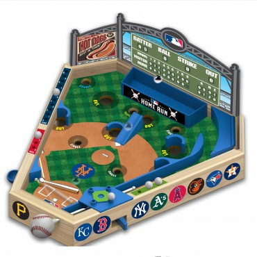 MLB Wooden Pinball Baseball
