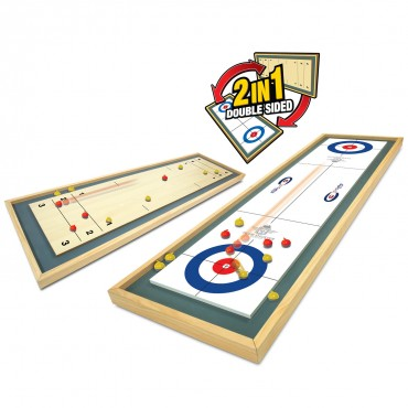 Team Shuster Gold Medal Tabletop Curling