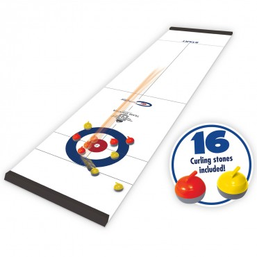 Team Shuster Tabletop Curling (Roll-Up)