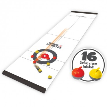 Curling Canada Tabletop Curling (Roll-Up)