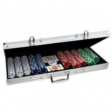 ProPoker 500 11.5g Poker Chips In Aluminum Case with DVD