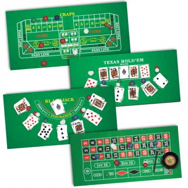 ProPoker 4-in-1 Casino Night Set