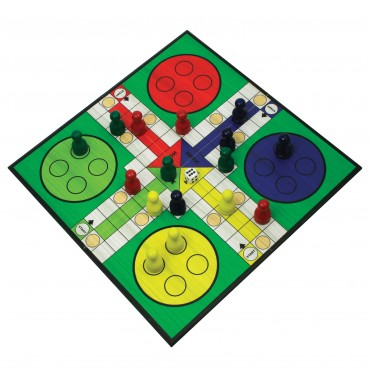 Deluxe Wooden Classic Pachisi in Gift Box