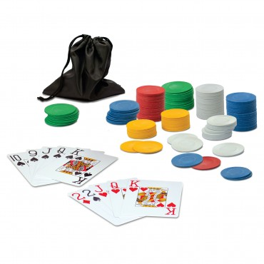 Grab & Go Games! - Travel Poker Kit