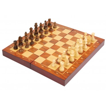 Folding Wood Chess Set
