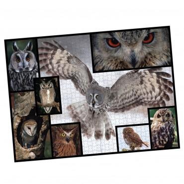 WWF 1000 piece puzzle - Owls