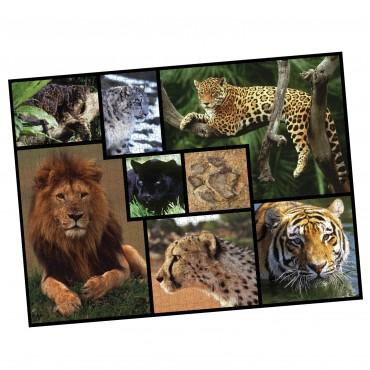 WWF 1000 piece puzzle - Wild Cats