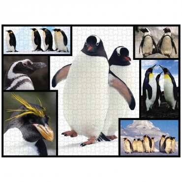 WWF 1000 piece puzzle - Penguins