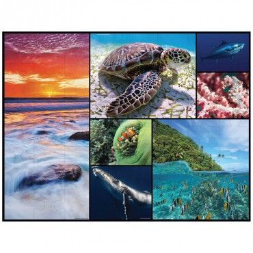 WWF Floor Puzzle - Oceans