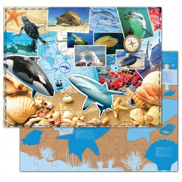 WWF Sea Life Floor Puzzle