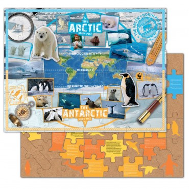 WWF Polar Regions Floor Puzzle