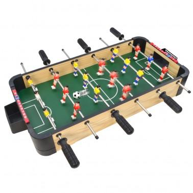 """24"""" Triple-Play Wood Tabletop Foosball (+Ping Pong + Slide Hockey)"""