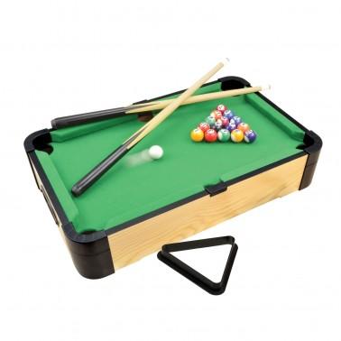 """20"""" Triple-Play Wood Tabletop Pool (+Ping Pong + Slide Hockey)"""