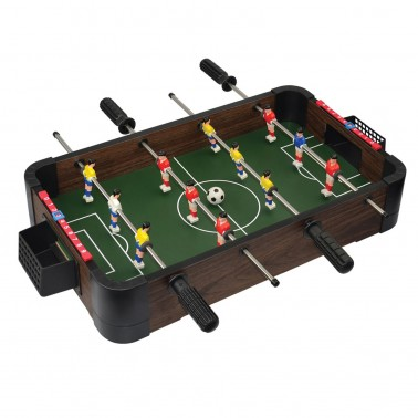 """20"""" 5-in-1 Wood Tabletop Foosball (+Ping Pong + Chess + Checker + Backgammon)"""