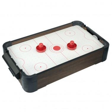 "20"" 5-in-1 Wood Tabletop Air Hockey (+Ping Pong + Chess + Checker + Backgammon)"