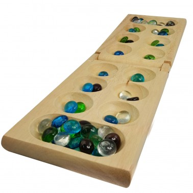 Deluxe Wood Mancala in Gift Box
