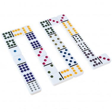 Classic Games Collection - D12 Color Dot Dominoes