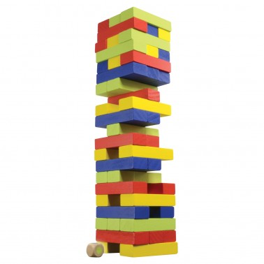 Classic Games Collection - Wood Tumblin' Tower (colored)