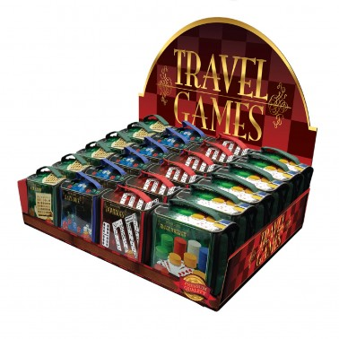 Classic Games Collection - Travel Games Assortment in CDU
