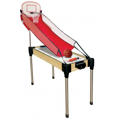 "36"" (92cm)  11-in-1  Games Table (Air Hockey, Basketball, Table Tennis (Ping Pong),  Rebound + Foosball (stacked) + 6 board games)"