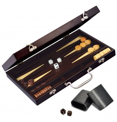 CRAFTSMAN Deluxe Backgammon Set
