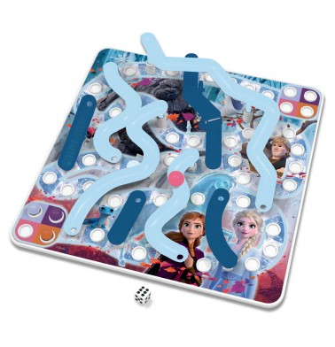 Frozen 3D Ice Slides & Bridges Game