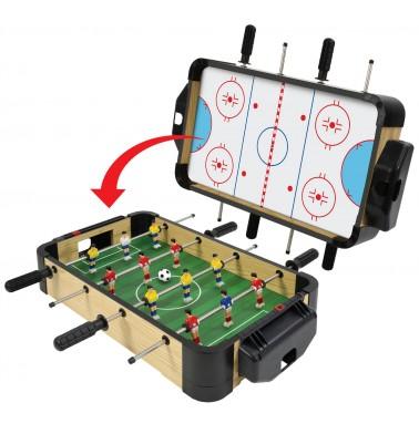 "20"" (50cm) 2-in-1 Games Table (Football/Foosball & Hockey)"