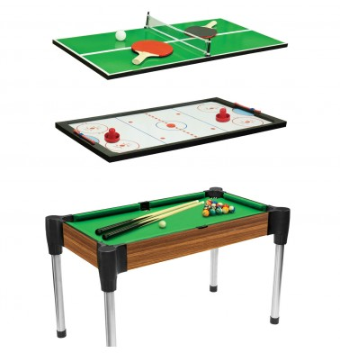 "48"" (122cm) 3-in-1 Games Table"