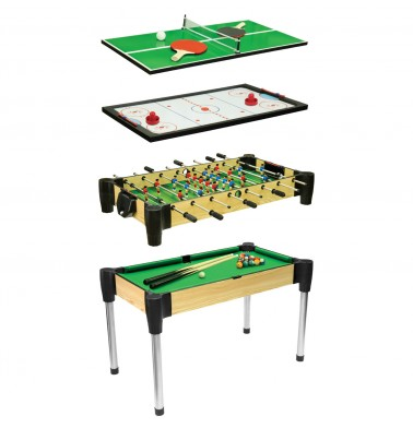 """48"""" (122cm) 4-in-1Games Table"""