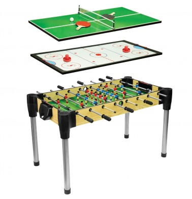 """48"""" (122cm) 3-in-1 Games Table"""