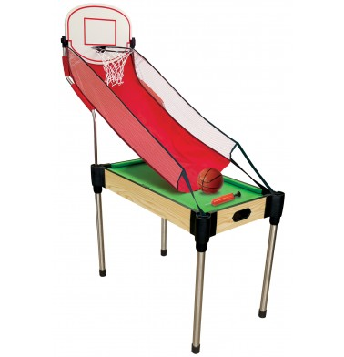 "36"" (92cm) 4-in-1  Table (Pool, Basketball, Table Tennis (Ping Pong), Slide Hockey)"
