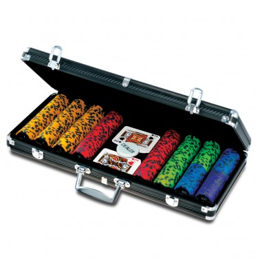 ProPoker 400 Carbon Fiber poker set