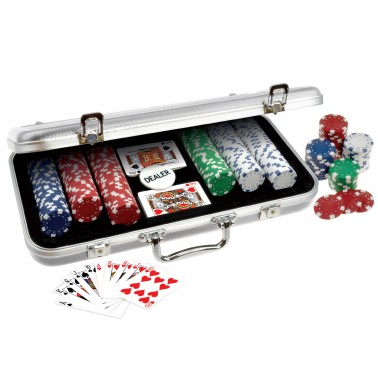 ProPoker 300 11.5g  Poker Chips In Aluminum Case
