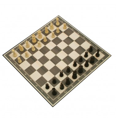 Deluxe Wood Chess in Gift Box