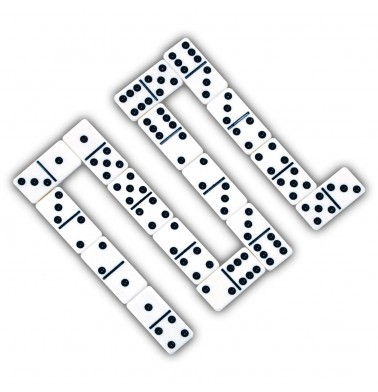 Classic Double-6 Dominoes in Gift Box