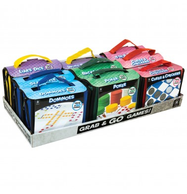 Grab & Go Games! - Travel Games Assortment in CDU