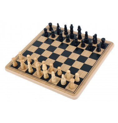 Wood Chess & Checkers