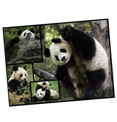 WWF 1000 piece puzzle - Pandas