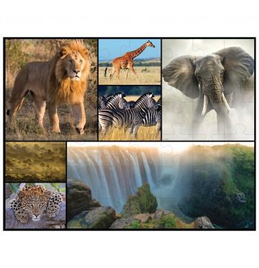 WWF Floor Puzzle - Africa