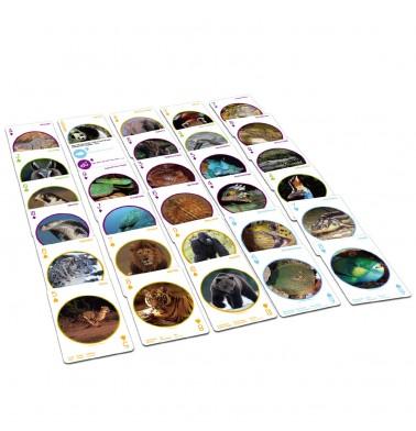 WWF Animal Playing Cards
